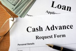 Cash Advance Request Form