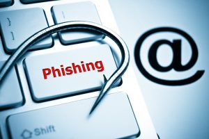 Scammers use phishing to steal information